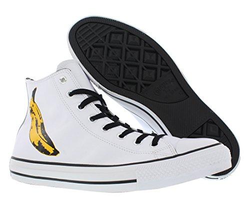 Converse Star Prem Ox Warhol, Sneaker Unisex - Adulto White/Black/Freesia