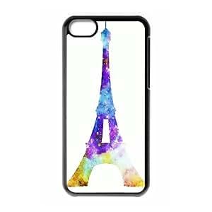 Custom Case Paris Tour Eiffel Picture For iPhone 5C Q3V563213