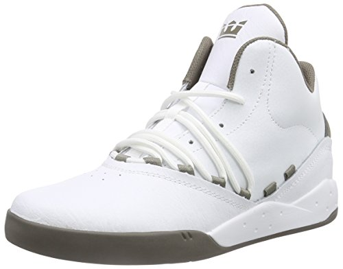 Morel Wmo Morel Sneakers Estaban White Adulte Mixte Supra Hautes Blanc OUqU68