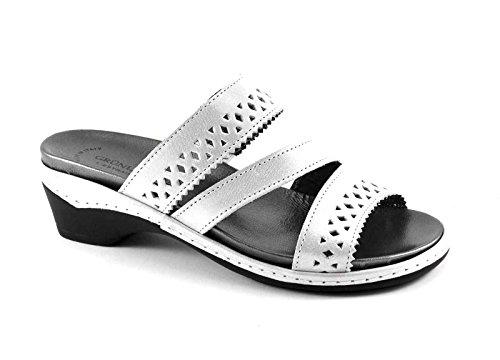Grünland DORA CE0532 zapatillas de hielo plantilla extraíble mujer de cuña Grigio