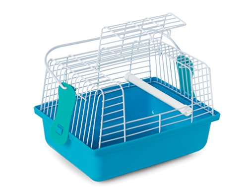 Prevue Pet Products Travel Cage for Birds and Small Animals, Blue by Prevue Pet Products (Image #1)