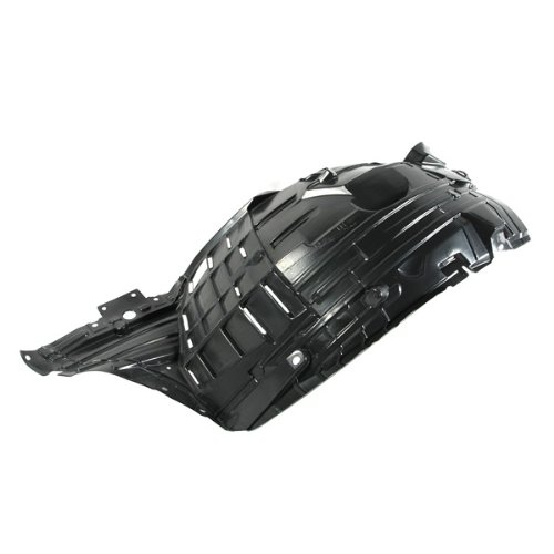 CarPartsDepot, Driver Left Side Front Portion Fender Liner Splash Shield LH, 378-36426-11 NI1250130 63845CD000