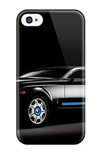 4/4s Scratch-proof Protection Case Cover For Iphone/ Hot Rolls Royce Ghost 21 Phone Case by supermalls