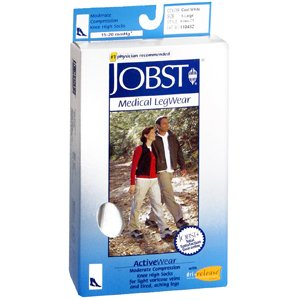 JOBST 110482 ACTIVE WEAR WHITE XLG