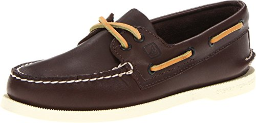 Action Leather Footwear - SPERRY Men's A/O 2-Eye Boat Shoe, Classic Brown, 16