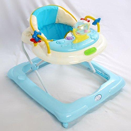 Andador para bebé, diseño estrella Azul. Andador de actividades o tacatá TORAL BEBE SL