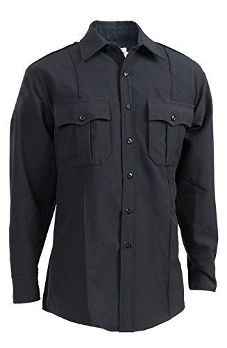 - Elbeco TexTrop 314 Midnight Navy, Male Long Sleeve Shirt (14.5 x 33)