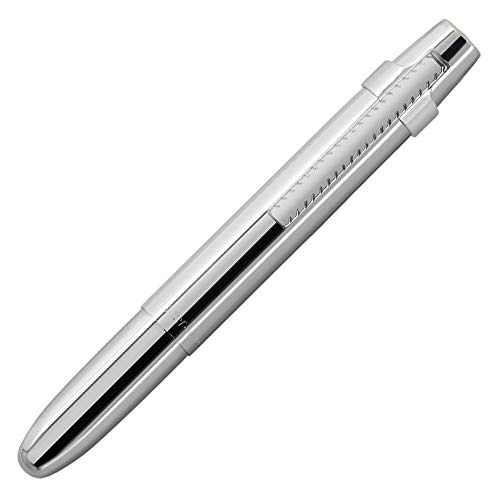- Fisher Space Pen X-Mark Flat-Cap Chrome Space Pen with Clip, Gift Boxed (400WCCL)
