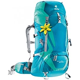 Deuter ACT Lite 35 + 10 SL Ultralight Trekking Backpack, Petrol/Mint