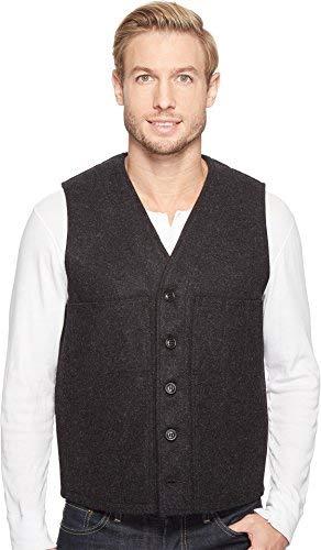 Filson Men's Mackinaw Wool Vest Charcoal Large ()