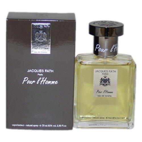 - Jacques Fath Pour L'homme by Perfumes Jacques Fath for Men. Eau De Toilette Spray 2.5-Ounces