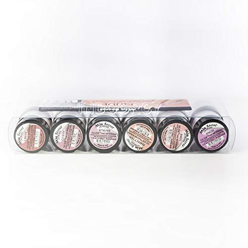 6pcs Mia Secret Nude Collection Acrylic Nail Art Powder