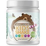Bare Necessities Organic Kids Protein Nutritional Shake - Soy, Dairy, Gluten & GMO Free Pea & Collagen Protein (Vanilla Bear, 18 oz)