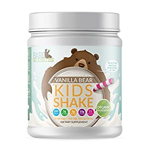 Bare Necessities Organic Kids Protein Nutritional Shake – Soy, Dairy, Gluten & GMO Free Pea &…