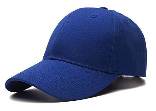 Adjustable Toddler Cap - Edoneery Unisex Toddler Kids Plain Cotton Adjustable Low Profile Baseball Cap Hat(A1009) (Dark Blue)