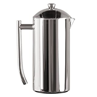 Frieling USA Double Wall Stainless Steel French Press Coffee Maker with Zero Sediment Dual Screen, Polished, 36-Ounce (B00009ADDS) | Amazon price tracker / tracking, Amazon price history charts, Amazon price watches, Amazon price drop alerts