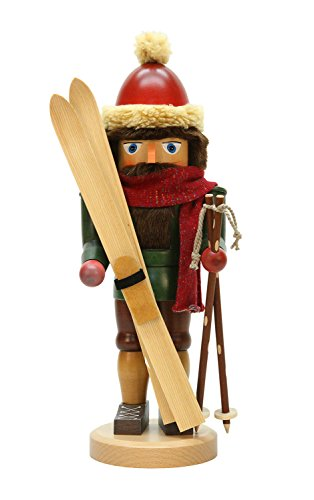 Alexandor Taron Home Decor Christian Ulbricht Skier Nutcracker by Alexander Taron