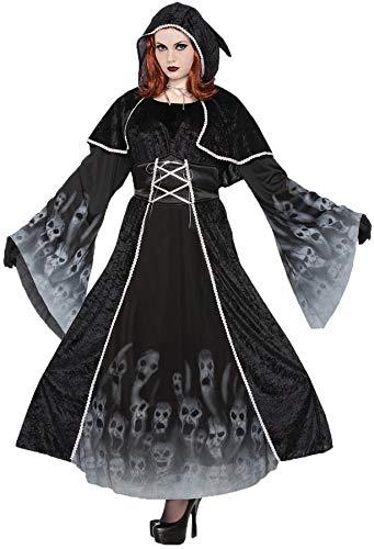 (Women's Forgotten Souls Outfit Horror Theme Halloween Plus Size Costume, Plus)
