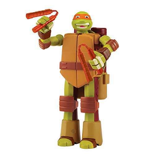 Teenage Mutant Ninja Turtles Mutations Figure To Weapon Michelangelo Figure