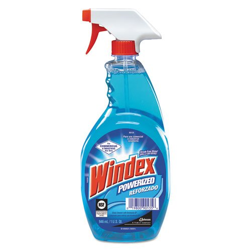 DRA90135EA - Windex Powerized Glass Cleaner with Ammonia-D