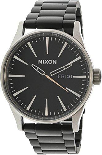 Nixon Men's Sentry Ss A3562541 Silver Stainless-Steel Quartz Fashion Watch