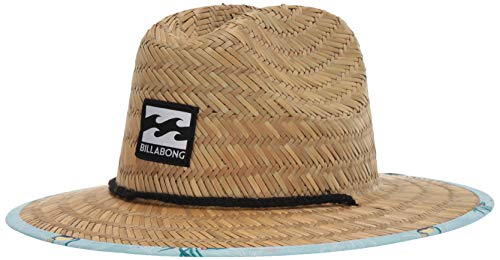 Billabong Print Hat - Billabong Boys' Tides Print Straw Hat Coastal One Size