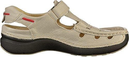 Leder 7201 Sandals Summer Wolky 312 White Rolling Altweiß 0ZO46yq