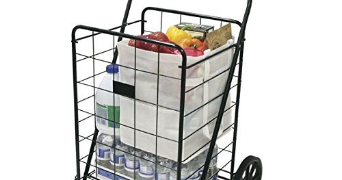 Helping Hand Super Deluxe Swiveler Cart | Swivel Front Wheels for Shopping, Sport Events and More