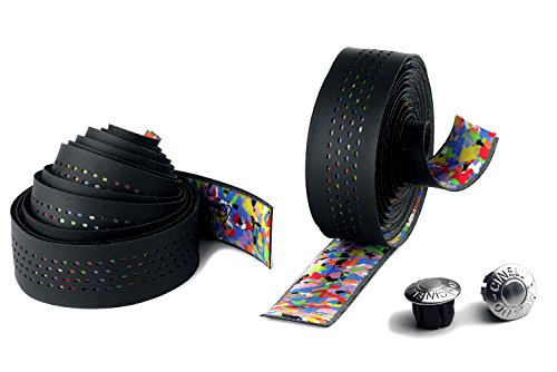 Cinelli 3D Caleido Ribbon Handlebar Tape, Black from Cinelli