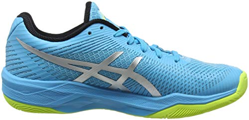 400 Volley Chaussures Asics Elite Volleyball de FF Femme Bleu Silver Aquarium HqxvxOwR