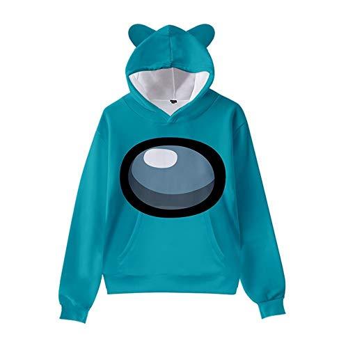 Among Us pullover kinderen Among Us hoodie voor meisjes streetwear Among Us cosplay kostuum hoodie sport trui sweatshirt…