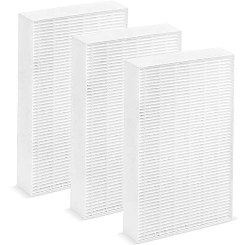 Altec Filters True HEPA Premium Quality Replacement Filters Compatible HPA300 Air Purifier, 3 Pack Fits HPA090, HPA100, HPA200, HPA300 HW HRF-R3 Filter R (HRF-R3 3 Pack)