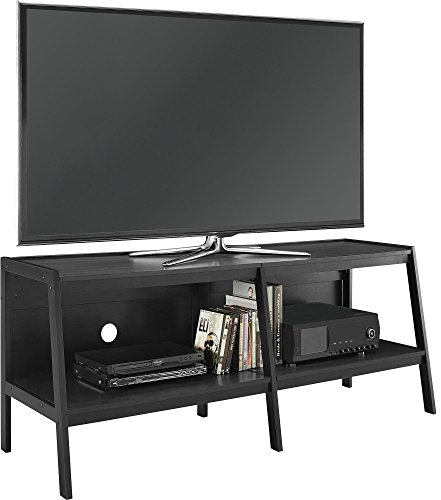 Essex Media Stand - Ameriwood Home Altra Furniture Ladder Entertainment Center TV Stand, 60