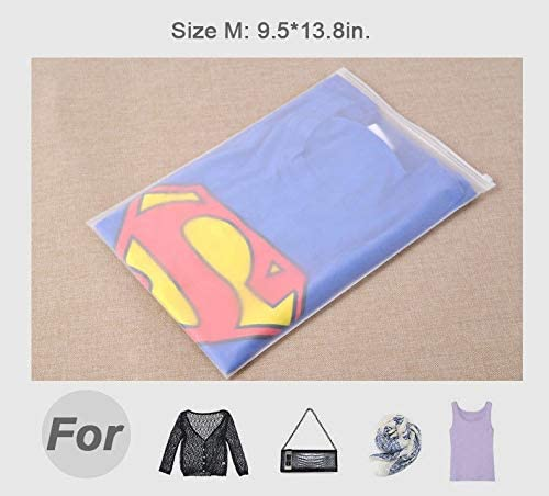 GraceShop Waterproof Clothes Storage Bag Packing Cube Travel Luggage Organizer Pouch 10Pcs