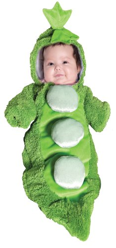 Pea in a Pod Bunting Baby Infant Costume - Infant - 2 Peas In A Pod Costumes