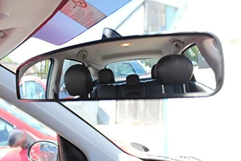 Heyner specchio panoramico grandangolo 43cm x 8cm EXTRA LARGE per auto bus carrello