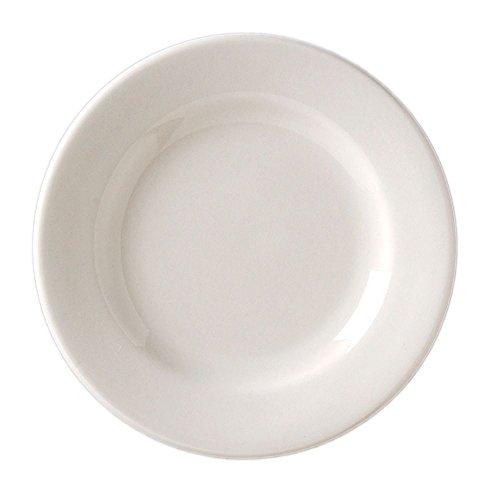 Vertex China VRE-20 Vista RE Plate, 11-1/8'', Bone White (Pack of 12) by Vertex China