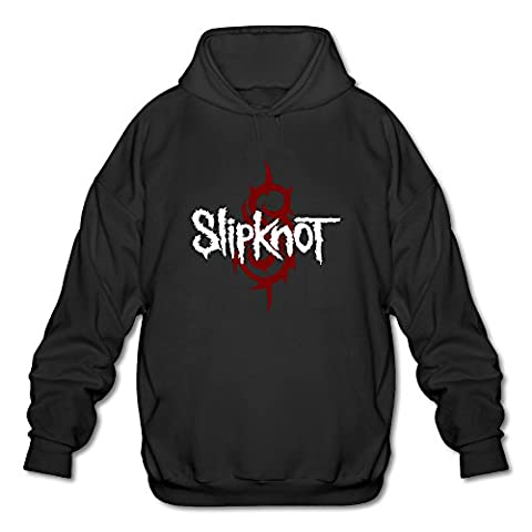 Firewei Slipknot Logo Men's Hooded Sweatshirt Black (Gone Baby Gone Movie Poster)