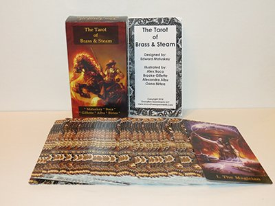 The Tarot of Brass & Steam: A Steampunk Deck 4
