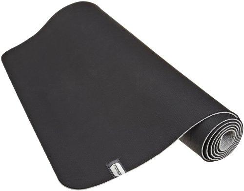 prAna E.C.O. Yoga Mat, Black Vapor, One Size Fits All