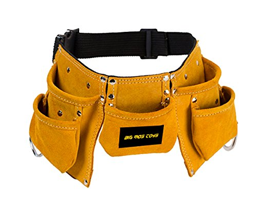 Big Mo's Toys Tool Belt - Kids Brown