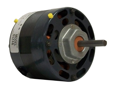 Fasco D1246 4.4-Inch Diameter Shaded Pole Motor, 1/15 HP, 115 Volts, 1550 RPM, 1 Speed, 2.3 Amps, CCW Rotation, Sleeve Bearing