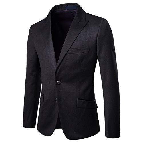 festa fumo nozze e da di pezzi 2 Abito uomo giacca nero pantaloni 0vAgw