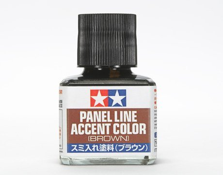 Rated Top Accent (TAMIYA 87132 Panel Line Accent Color Brown For Plastic Model Kit)