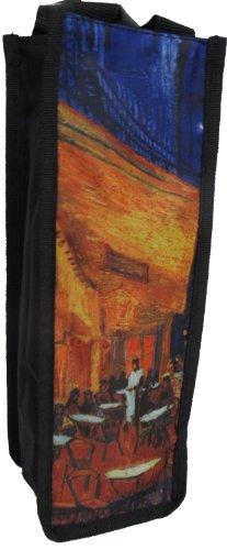 Wine Tote Bag~ Café Terrace at Night by Van Gogh ()