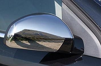 Opel Vectra C - Signum cromo espejo (tapas) Acero Inoxidable: Amazon.es: Coche y moto