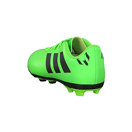 000 Botas FxG adidas Negbás J Versol Verde Messi 18 Unisex 4 de fútbol Adulto Nemeziz qSwxH6SC