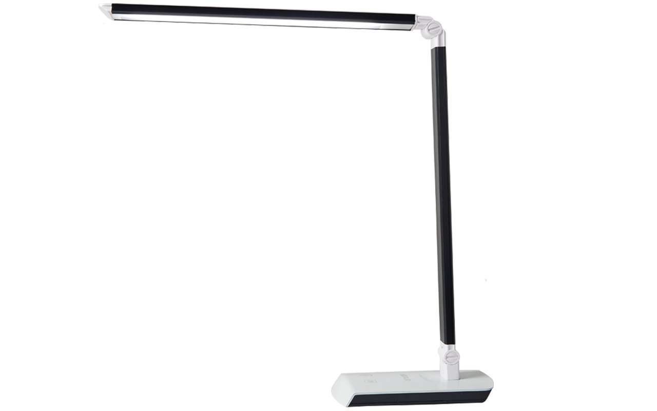 Yourled LED Desk Light,Modern and Small,Metal Table Lamp for Study,Reading,Work (Black)