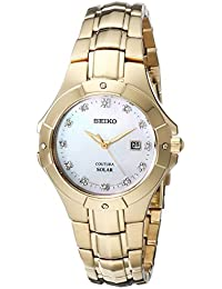 Women's SUT168 Analog Display Japanese Quartz Gold Watch