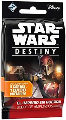 Star Wars El Imperio en Guerra Expositor de Sobres de Ampliación (Fantasy Flight Games FFSWD07) , color/modelo surtido: Amazon.es: Juguetes y juegos